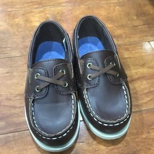 Brown Carters loafers